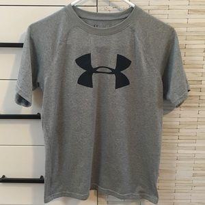 Under Armour Boys Short Sleeve Shirt